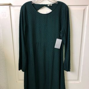 Spense Emerald Green Long sleeve dress